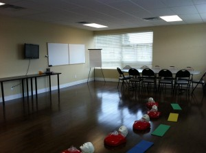 workplace approved First Aid Classroom