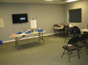 First Aid and CPR Training Classroom in Winnipeg