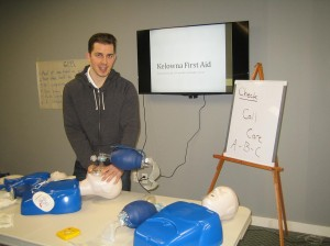 First Aid and CPR Training in Kelowna