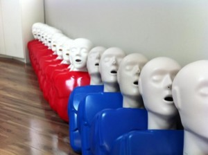 First Aid and CPR Training Equipment