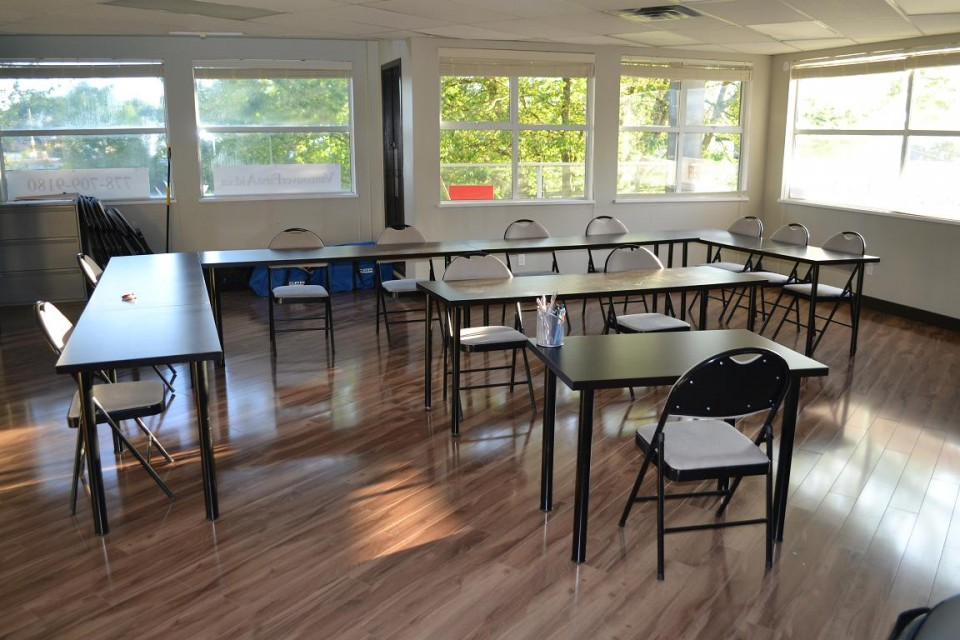 Red Cross First Aid Training Room